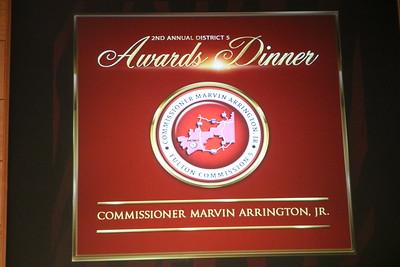 Commissioner Arrington Jr., Community Service Awards_10_25_2018