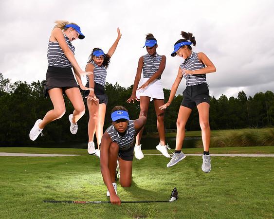 24 Oct 2019 BTHS Girls Golf Team Shoot