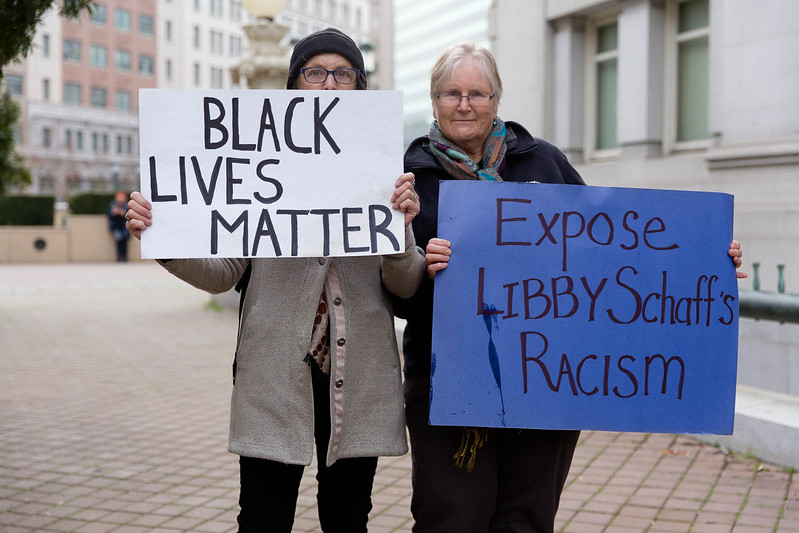 20170117 - T48A9426 -Reclaim MLK 120 Hours SURJ Expose Libby Schaff's Racism, Reject the Trump Agenda in Oakland - photographed by Sam Breach 2017 - 1080 short edge.jpg