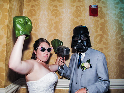 Allison & David Wedding Hidden Photo Booth Video