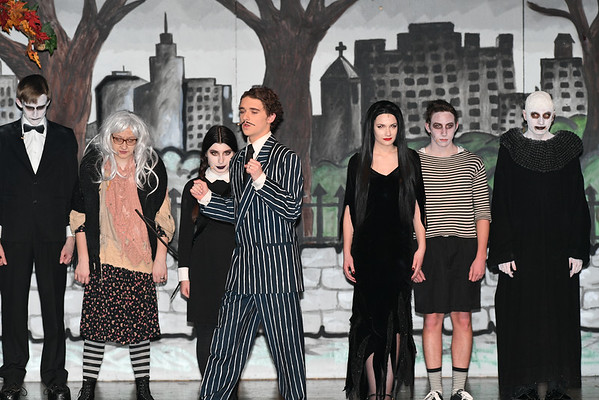 ADDAMS FAMILY HS MUSICAL 2018