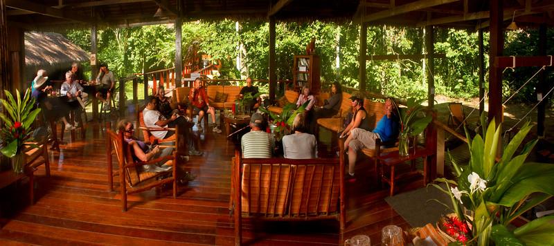 Lobby Posada Amazonas