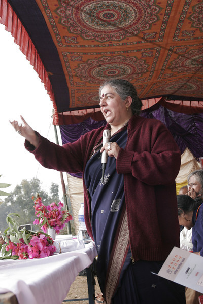 Vandana Shiva, speech for a tribe in Ranchi, New Delhi, India, 2008