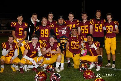 Varsity Football Senior Night 2018