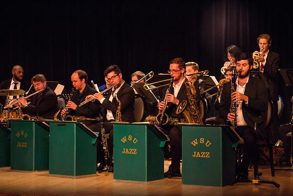 Wayne State Jazz Big Band I - Concert at the Grosse Pointe War Memorial - Oct. 28, 2015