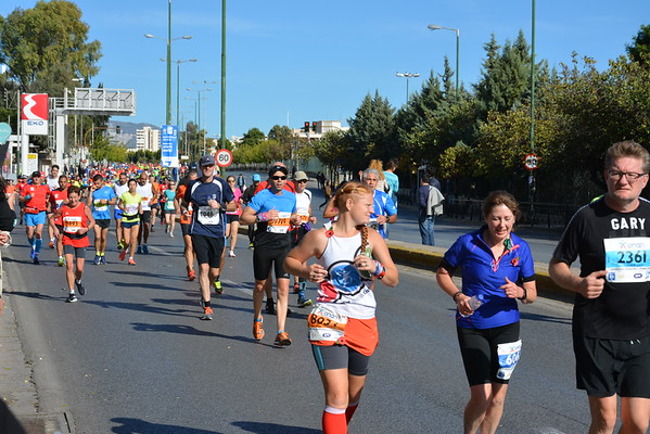 2016-11-13 Pictures from Fotis from the Marathon