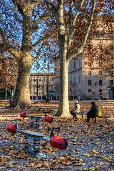 Playground - Parco del Popolo, Reggio Emilia, Italy - December 17, 2011