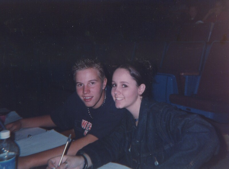 Wes Dedlow & Katie Ann Fagan Fall 2001 Joseph.jpg