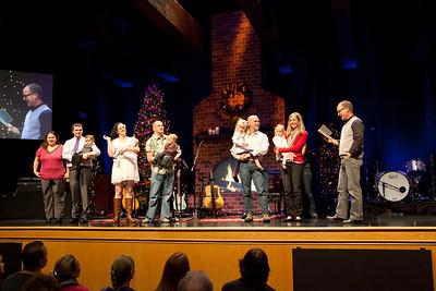 December 16, 2012 Baby Dedications