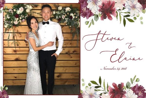 Elaine & Steven Wedding GIF BOOTH