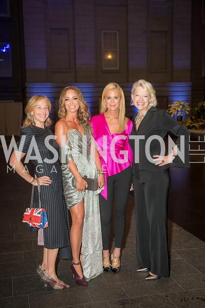 Randi Levine, Kristin Cecchi, Susanna Quinn,  Kim Sajet,  Conversation with Supermodel Patti Hansen and Ivan Shaw, National Portrait Gallery, October 11, 2018.  Photo by Ben Droz.