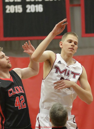 MIT-Clark Men's Basketball Jan. 28, 2017