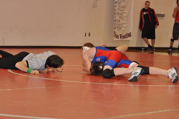 JV Wrestling-Elkhorn Dual 12/15/09