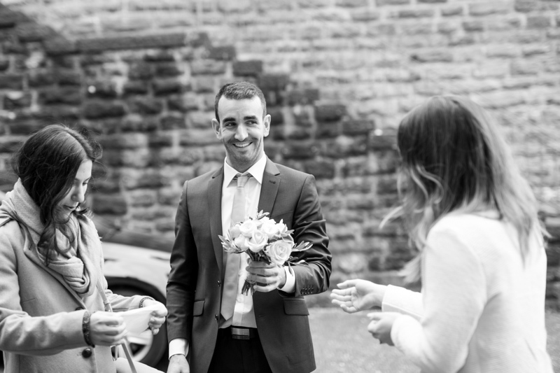 La Rici Photography - Intimate City Hall Wedding 014BW.jpg