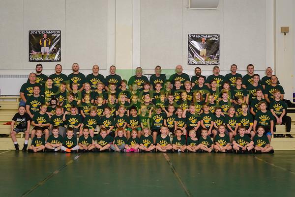 2017-2018 Basehor Kids Wrestling