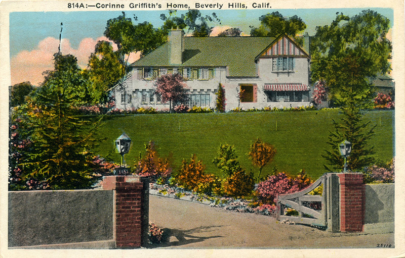 Corinne Griffith's Home