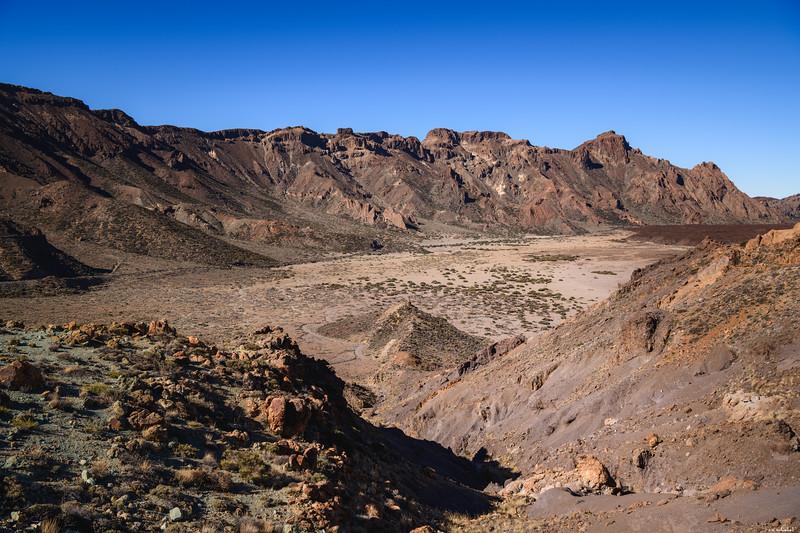 Old crater rim