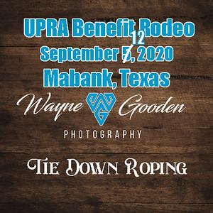 Tie Down Roping UPRA