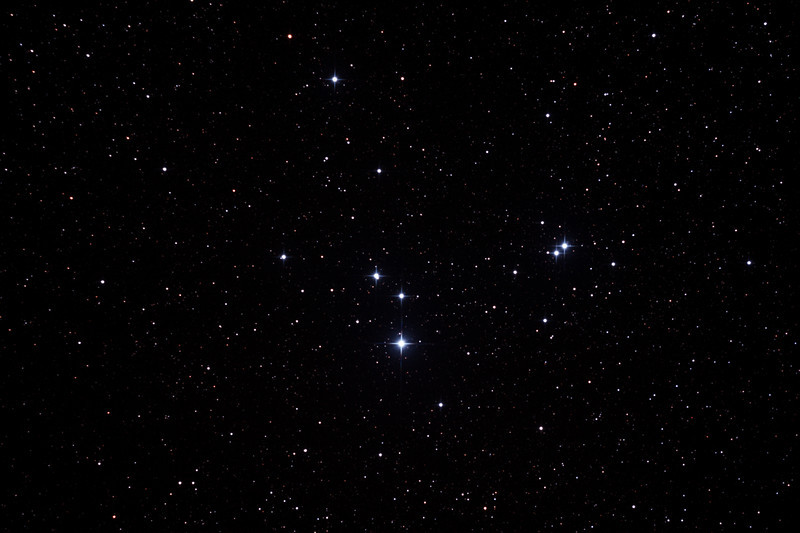 Caldwell 85 - IC2391 - Omicron Velorum Cluster in Vela - 8/2/2013 (Processed stack)