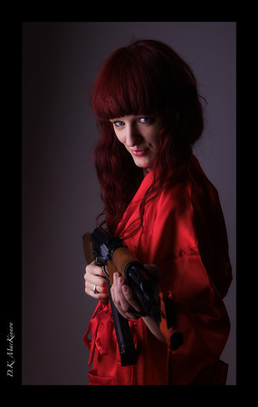 Alyson Red Robe