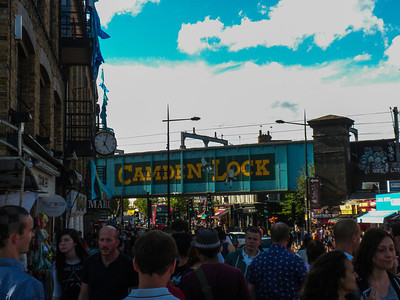 Camden Market and Regents Park