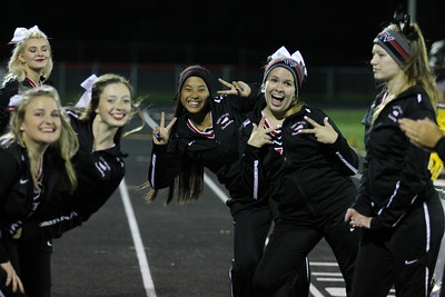 Cheerleaders @ Manchester Game