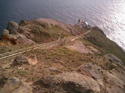 Pt. Reyes Lighthouse, Aug 2005