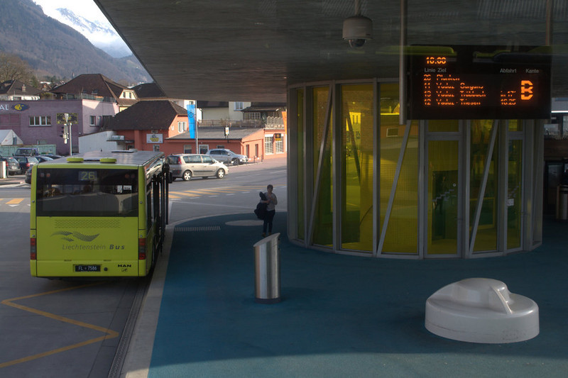 Liechtenstein Schaan bus station.jpg