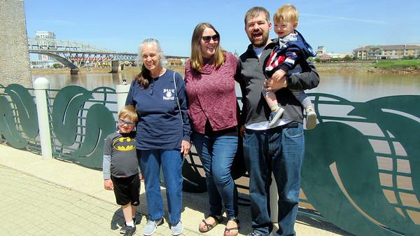 Exploring Shreveport with Family