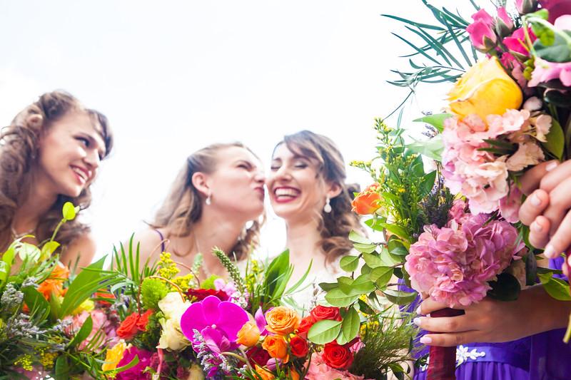 Dressing & Bridesmaids