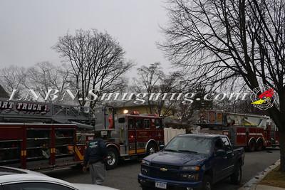 Baldwin F.D. Basement Fire 557 Harvard Ave 2-16-12