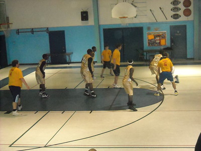 CYO Basketball Gold vs. St. Mary Magdalen Gold