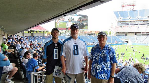2015 Titans Nissan Stadium Scrimmage August 8, 2015