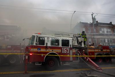 Brooklyn 5th Alarm Box 3005 2118 Flatbush Ave 4/17/19