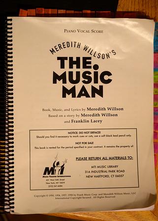 PHS Theatre The Music Man dress rehearsal 1-25-2020