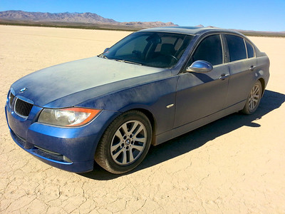 Jean Dry Lake Bed BMW 328i