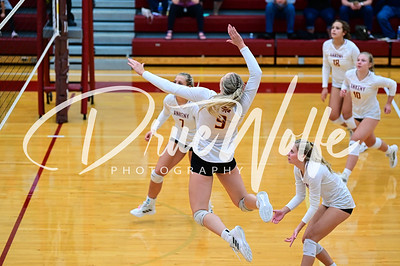 Ankeny Hawkettes Volleyball vs. Ames 10122021