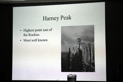 Cerney provided an informative talk, including lots of photos, too.