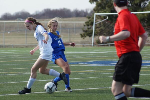 04/1/19 Millard North vs Marian Girls JV Soccer