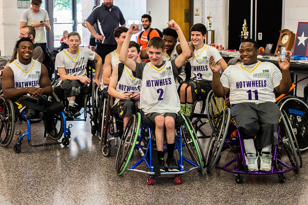 2016 Shootout - Wheelchair Basketball Tournament