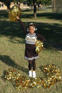Dawgs 4th Grade Cheerleaders Oct 2008