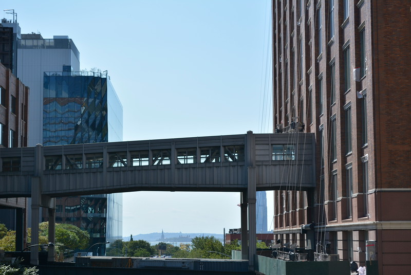 View from The High Line NYC