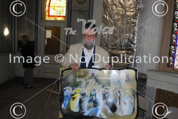 Aurora, IL artist John Heinz displays paintings at GAR Open House 11-11-10