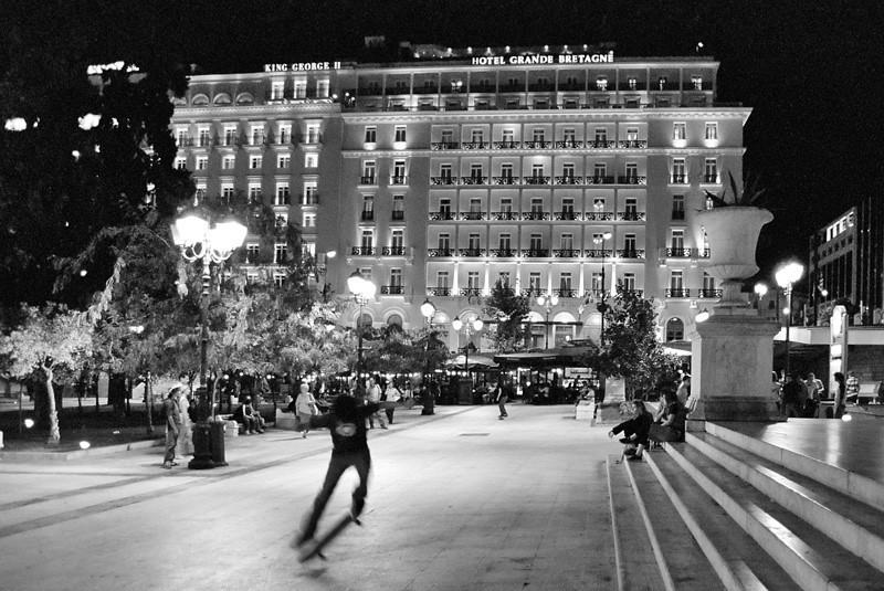 Syntagma square, Athens (2002)
