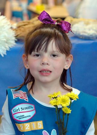 Girl Scout Bridging Spring 2014