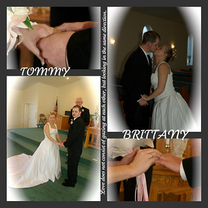 Brittany and Tommys Wedding Day