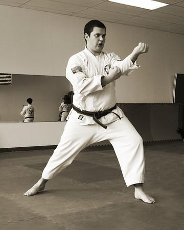 TWIN TIGERS Black Belt Test