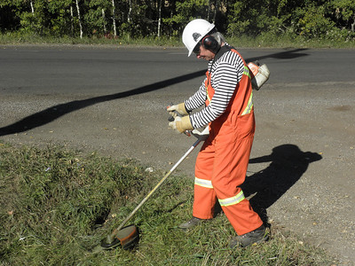 Site Maintenance - Weed Wacker