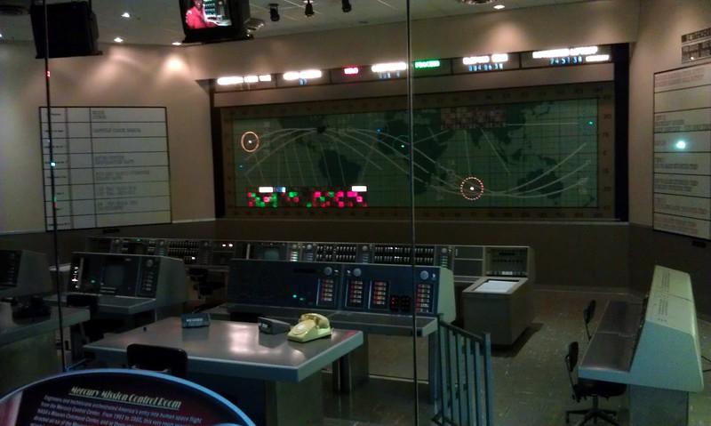 Replica of the Mercury Control Center