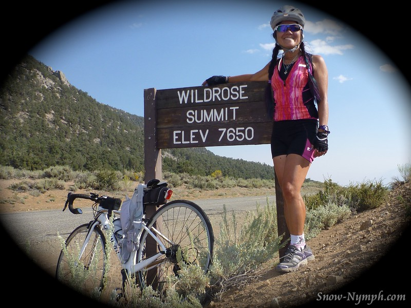 Aug 17, 2015  Wildrose Summit 7,650' turnaround - started by Brown's Campground  31 mi with 2,129' ascent/descent  <br /> MORE PHOTOS: